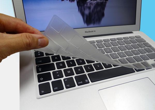 Lot de 10 membranes silicone de protection pour MacBook Pro 13, 15 et 17 pouces