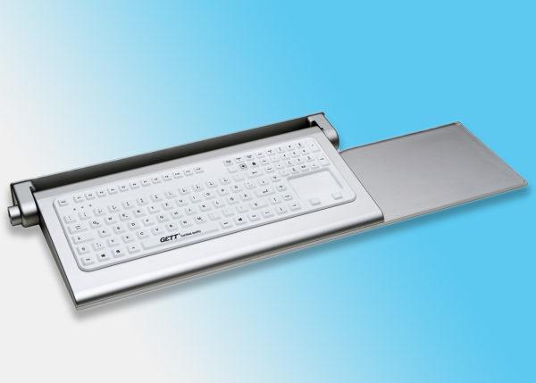 Clavier silicone série Cleantype® Prime Panel+ en tablette